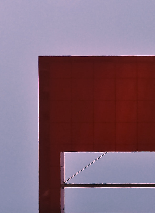 Abstract decorative Picture of Sky and architectural structure